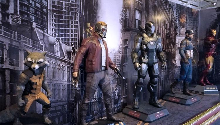 Blockbuster Museum Surabaya menghadirkan ribuan action figure dari berbagai film dan game. Foto: dok Blockbuster Museum Surabaya