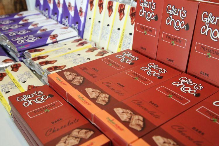 Glen's Choco produksi asli Banyuwangi dari biji kakao yang telah mendunia. Foto: ptpn12.com