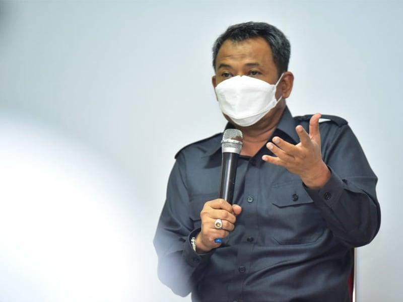 Kepala Dinas Pendidikan (Dispendik) Kota Surabaya, Supomo. foto: Humas Pemkot Surabaya.