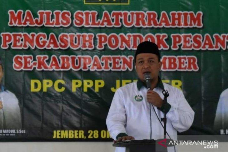 Ketua DPC Partai Persatuan Pembangunan (PPP) Jember Madini Farouq. ANTARA/HO-PPP Jember