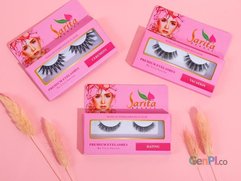 Eyelashes Sarita Beauty. Foto: Sarita Beauty/GenPI.co