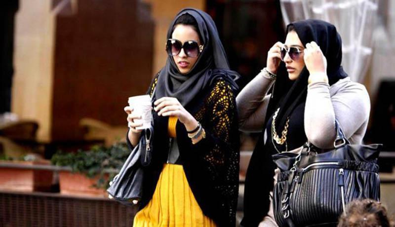 Ilustrasi turis asal Timur Tengah