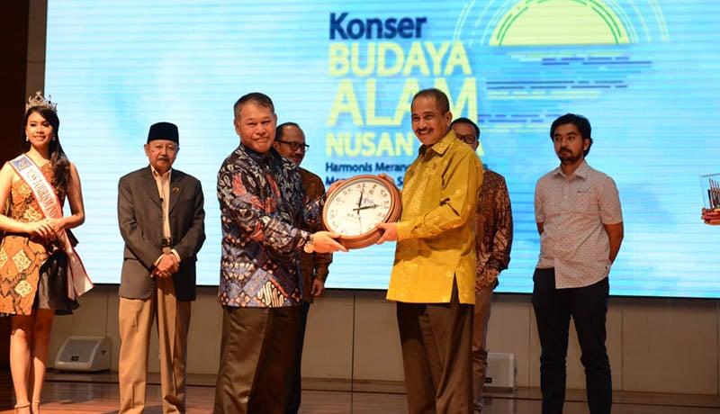Menpar Arief Yahya di Konser Budaya Alam Nusantara 2018.