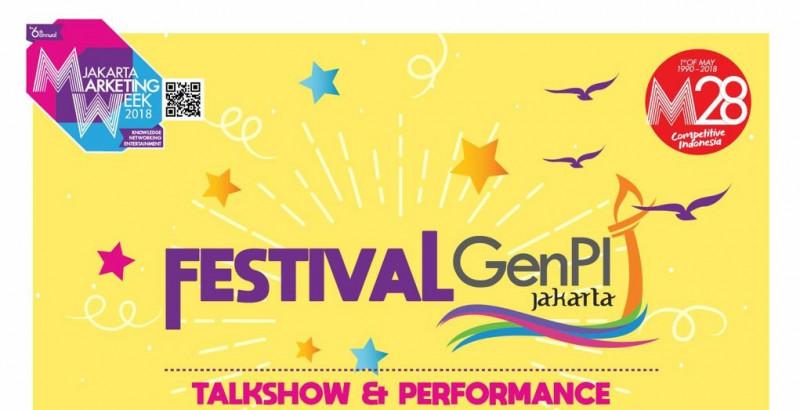 GenPI Jakarta Panaskan Mesin, Festival GenPI Digulirkan