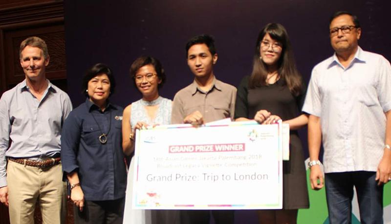 74d516fc70b7a488d0e0b65261aeeeca - Asian Games Vignette Competition