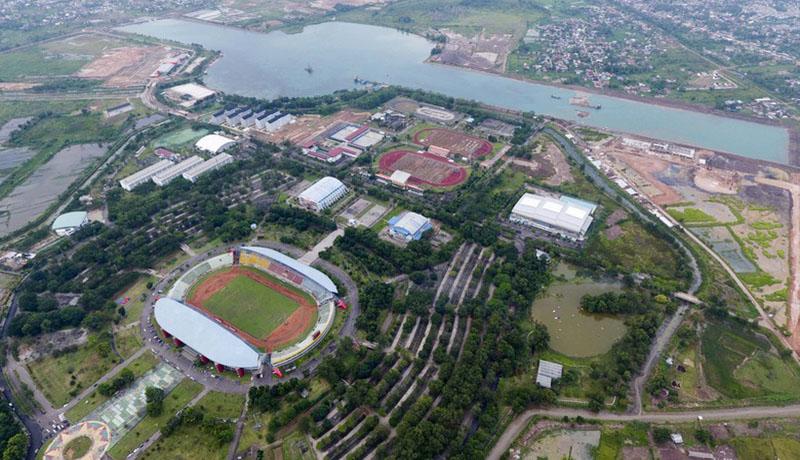 Rekayasa Cuaca Cegah Asap Ganggu Asian Games 2018 - GenPI.co GenPI.co Jakabaring Sport City, tempat berlangsungnya Asain Games 2018 di Palembang. (Foto: DetikSport)