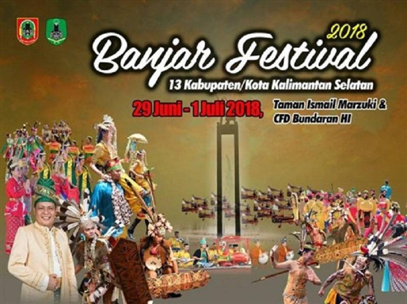 Festival Banjar 2018. (Foto: Google Image)