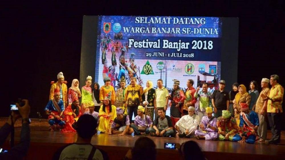 Festival Banjar 2018 di TIM, Jakarta (Foto: Tribunnews)