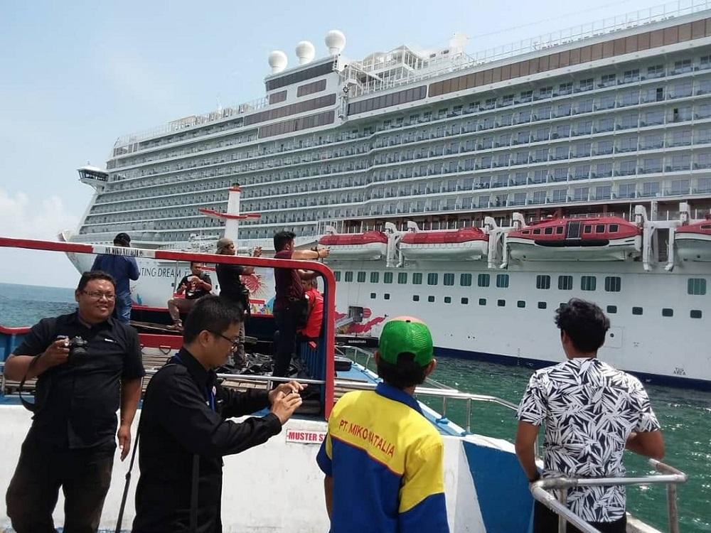 Kehadiran Genting Dream Cruise ke Bintan.
