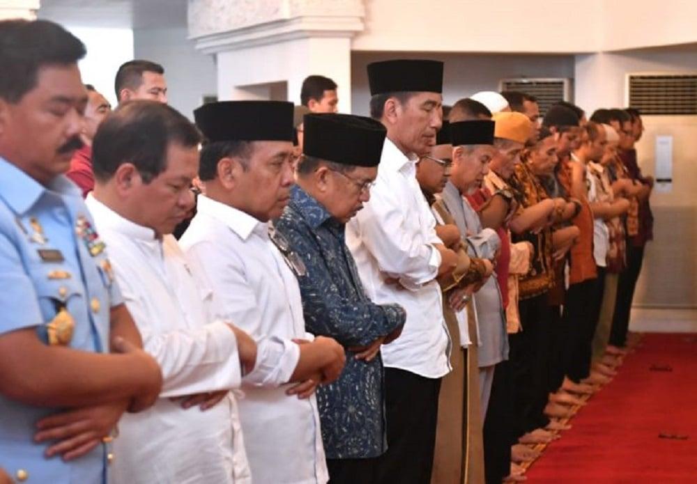 President performed Al Ghaib Prayers for Earthquake Victims