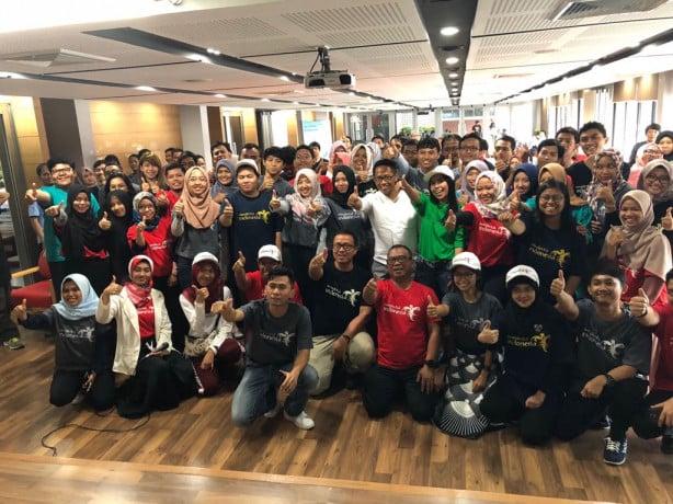 Pengukuhan pengurus baru Genwi Thailand berlangsung seru