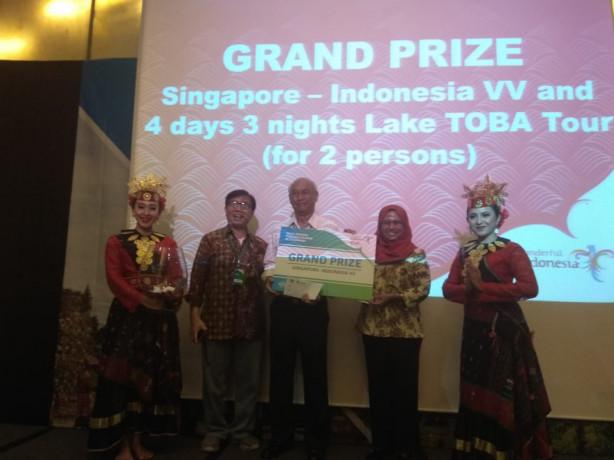 Acara Sales Mission Danau Toba di Singapura berlangsung sukses