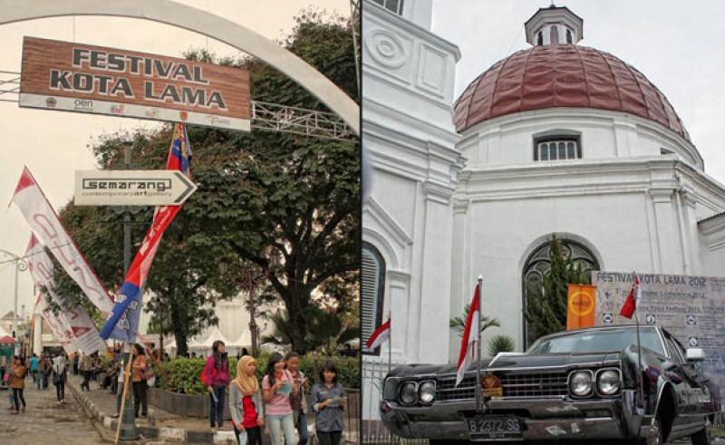 Festival Kota Lama Semarang. (Foto: Ngopibareng)