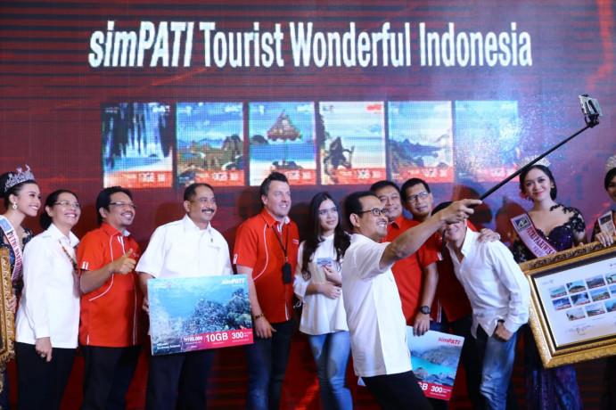 Peluncuran starterpack Wonderful Indonesia.
