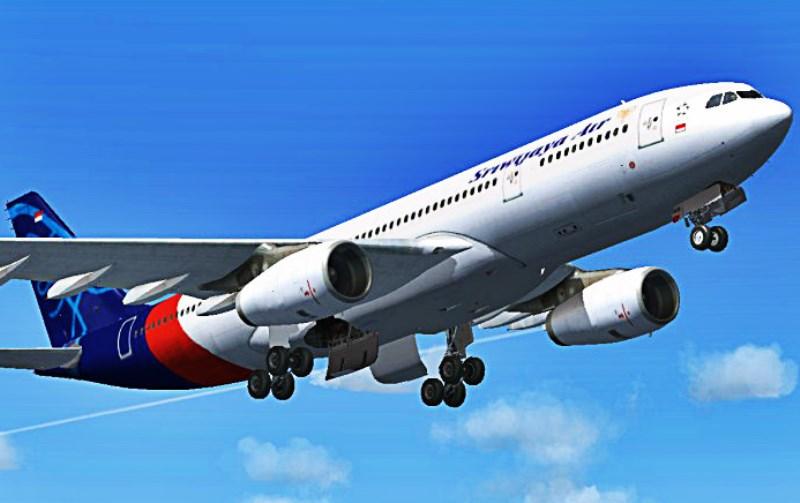 Ilustrasi pesawat Sriwijaya. (Foto: Google Image)