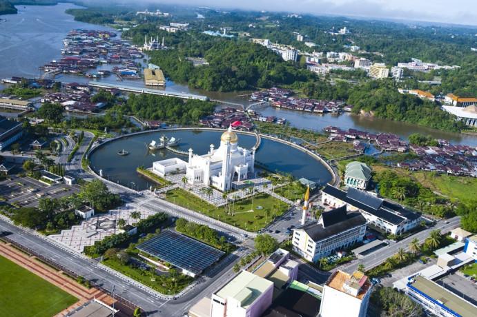 Bandar Sri begawan, Ibukota Brunei Darussalam yang akan menjadi lokasi sales mission Kemenpar. (Foto: Flickr)