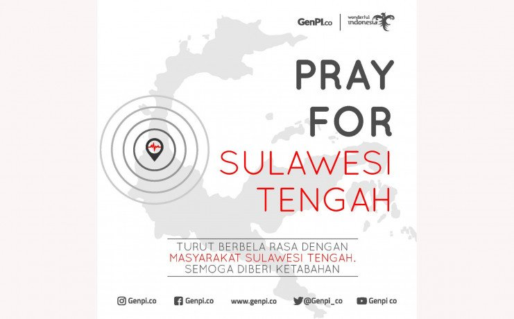 Earthquake hit Centeral Sulawesi.