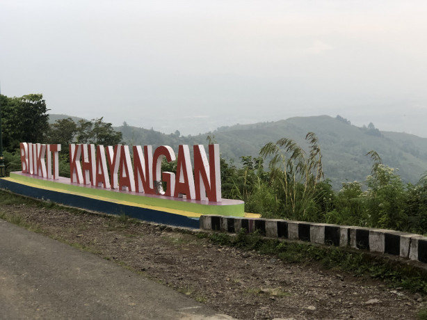 Bukit Khayangan, destinasi wisata hits di Kerinci, Jambi.
