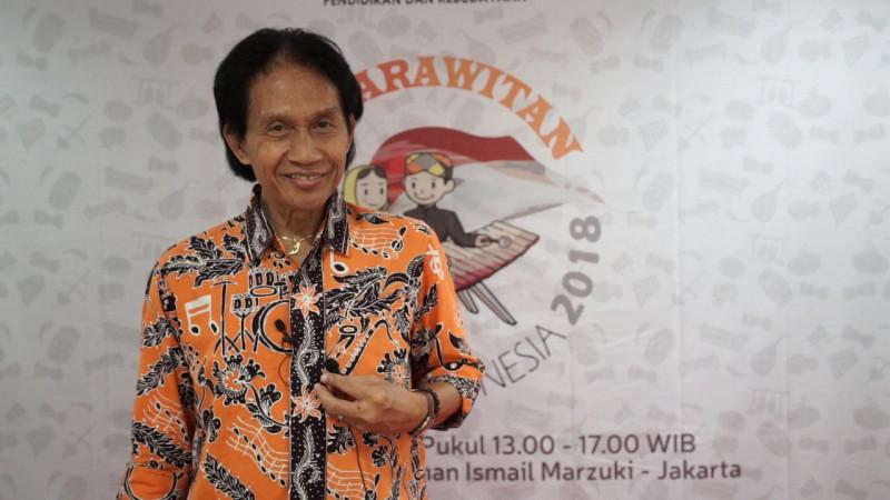Bens Leo, pengamat musik yang didapuk jadi juri di Konser Karawitan Anak Indonesia 2018.