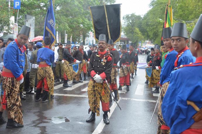Festival Keraton Nusantara XII yang berlangsung Kamis (29/11) di Tanah Datar.