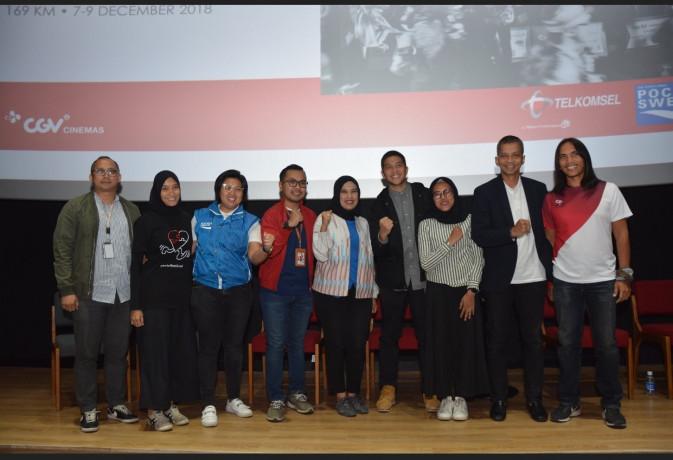 Konferensi Pers NusantaRun 2018 di Jakarta.