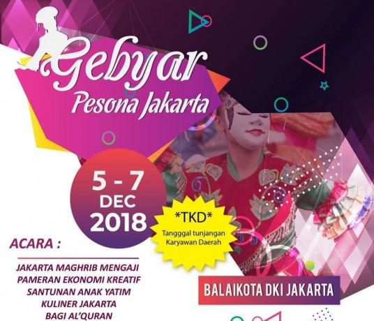 Gebyar Pesona Jakarta.