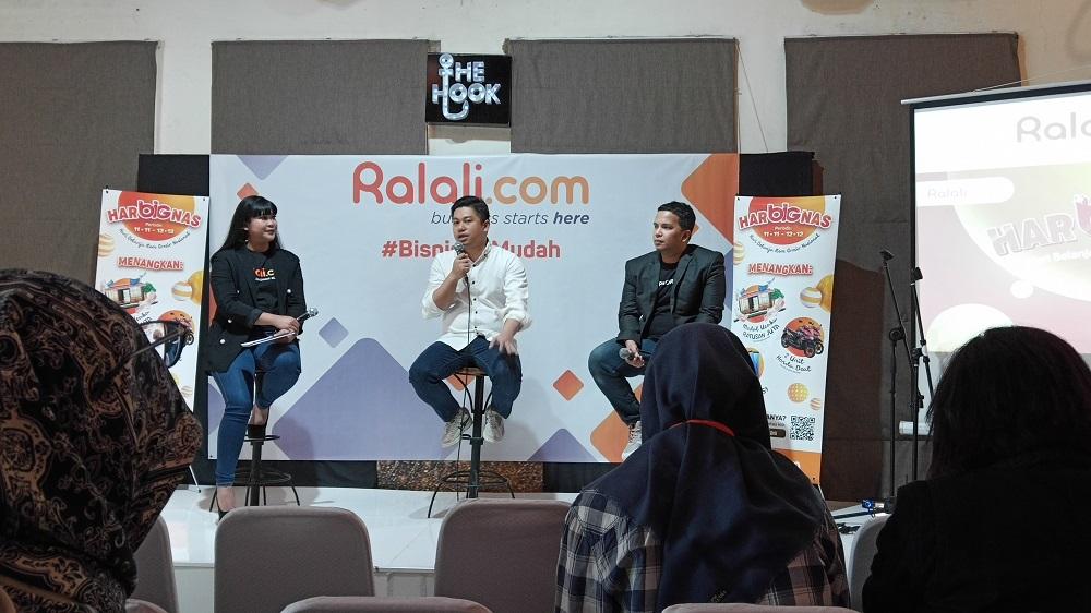 Konferensi pers Ralali.com Rabu (5/12) di Jakarta.