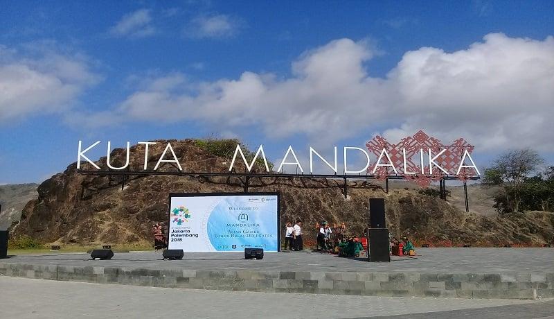 Kawasan Ekonomi Khusus (KEK) mandalika menjadi lokasi perayaan HUT ke-60 Provinsi NTB (foto : Ardiansyah)