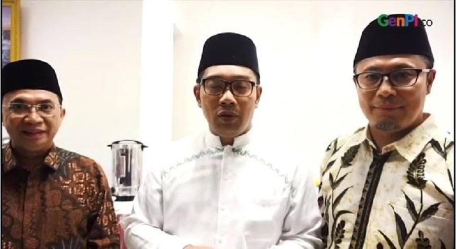 Video Ridwan Kami ajak masyarakat Sukabumi mengunjungi Pasar Cikundul.