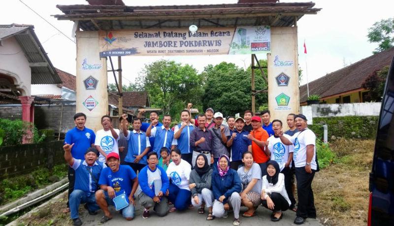 Jambore Pokdarwis Se-Kab. Blitar yang diselenggarakan tanggal 14-15 Desember 2018