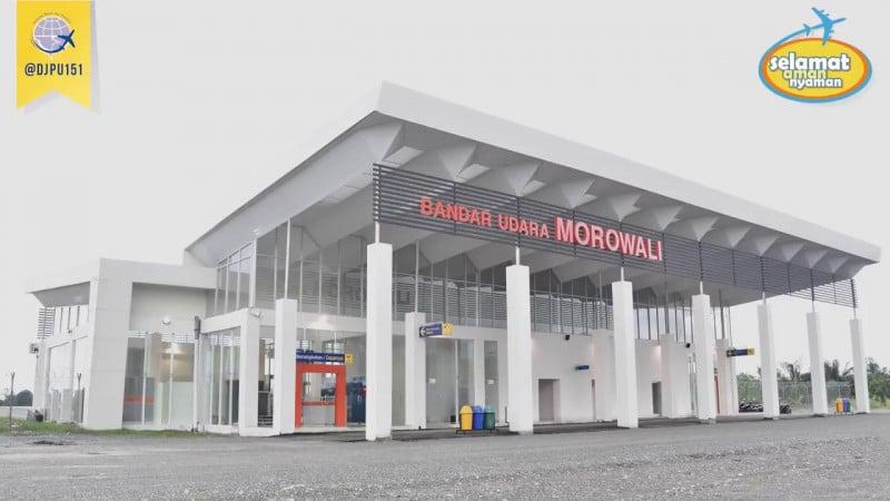 Bandara Morowali. (Foto: Youtube)