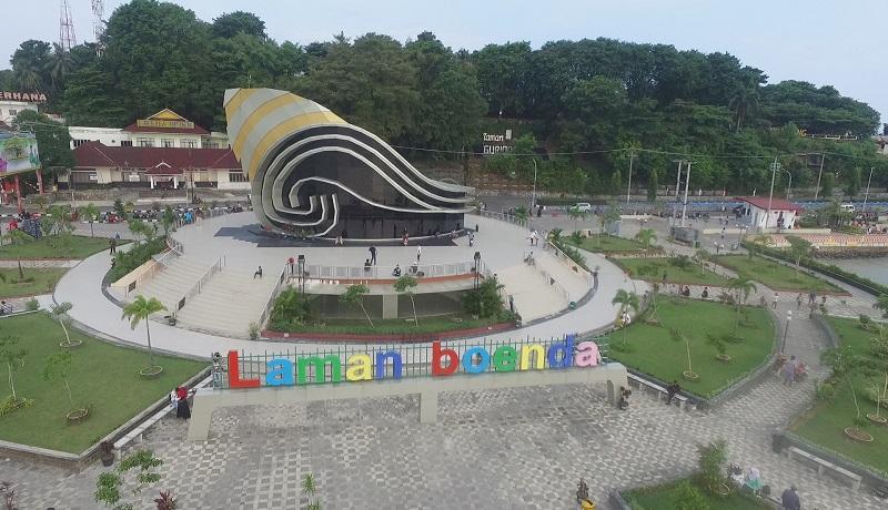 Gedung Gonggong atau Laman Boenda, di Tanjungpinang, Kepri. Foto: Milyawati
