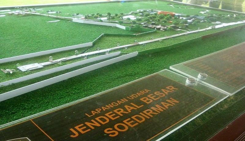 Market Bandara Jenderal Soedirman di Purbalingga, Jawa Tengah. (dok)