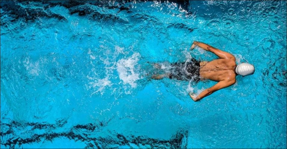 Ilustrasi berenang. (Foto:Pexels.com)