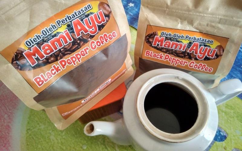 Salah satu produk kopi lada hitam. (Foto: rri.go.id)