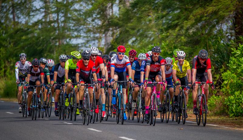 peserta Tour de Bintan tahun lalu begitu meriah. (ist)
