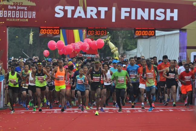 Borobudur Marathon 2018 (Sumber foto: Media Indonesia)