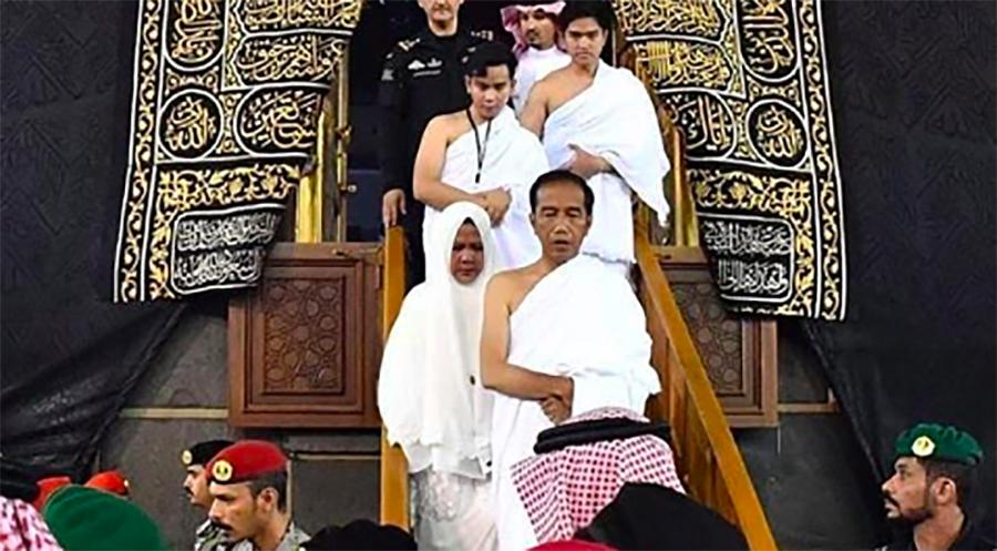 Selain Jokowi, Dua Presiden RI Ini Juga Pernah Masuk Ka'Bah