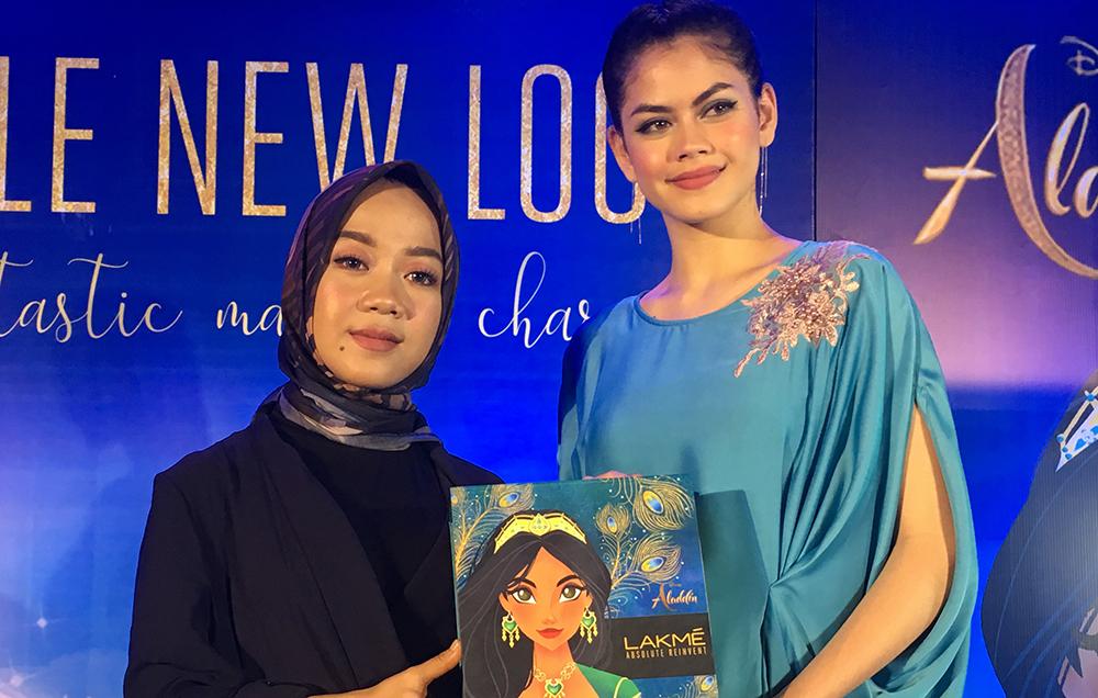 Trend makeup ala Princess Jasmine di film Aladdin