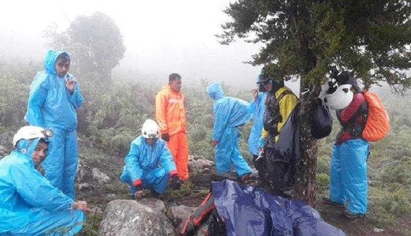 Ilustrasi pencarian pendaki gunung yang hilang. (ist)