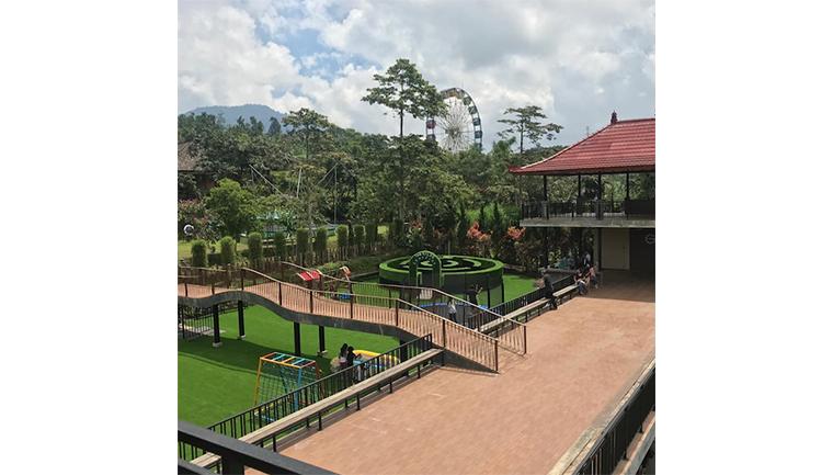 The Sila's Agrotourism yang berada di Banjar Batusesa, Candikuning, Baturiti, Candikuning, Tabanan, Kabupaten Tabanan, Bali (Sumber: Instagram)