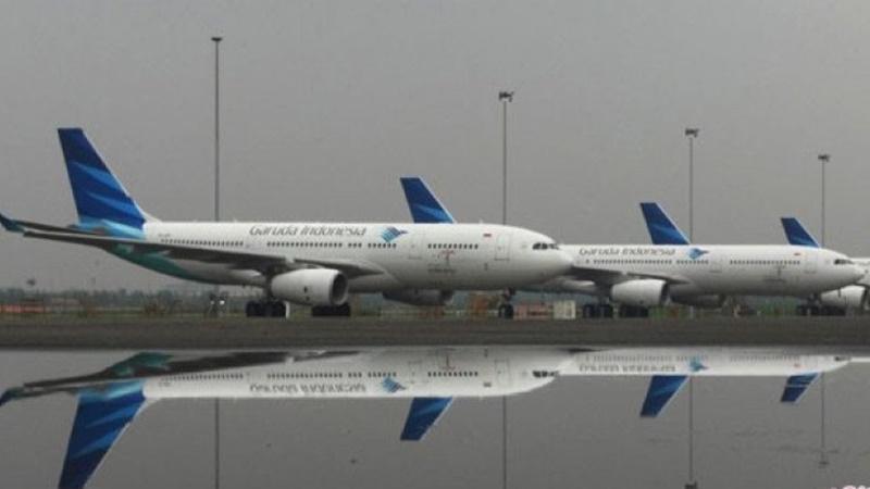 Menteri Perhubungan Budi Karya mengemukakan regulasi penyesuaian tarif batas atas (TBA) Pesawat akan mulai berlaku efektif pada Sabtu, 18 Mei 2019. (foto: Antara)