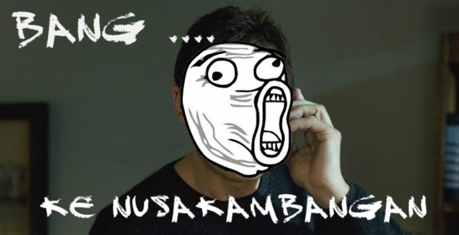 Driver Ojol cerita dia dapat pesanan ojek online dari Nusakambangan (Foto : Istimewa)