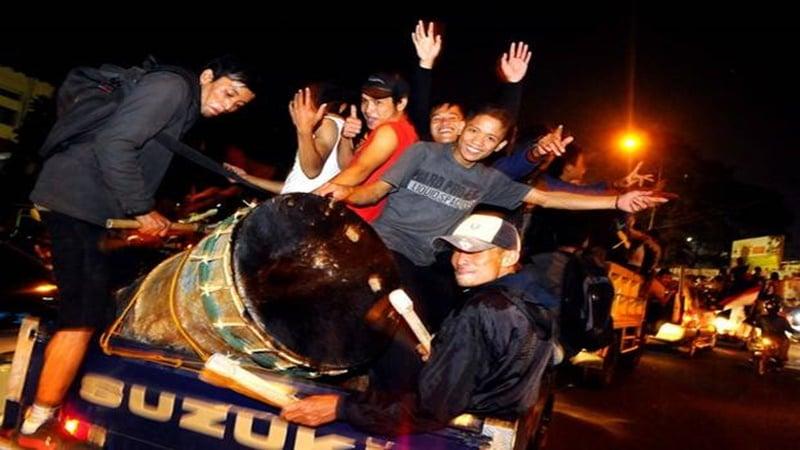 Ilustrasi. Takbir keliling (foto: sindonews.com)