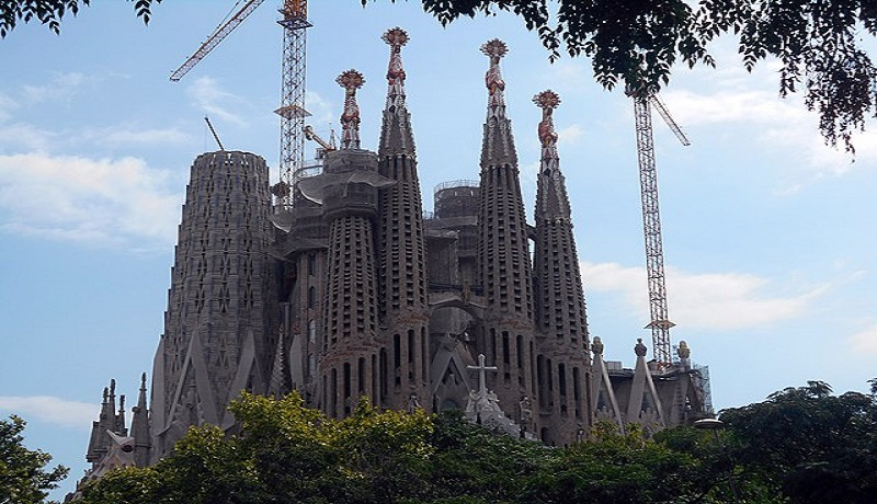 Rumah Ibadah LA Sagrada Familia. (ist)