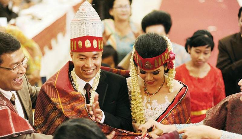Ilustrasi Pernikahan Suku Batak, Sumatera Utara (Foto : Istimewa)