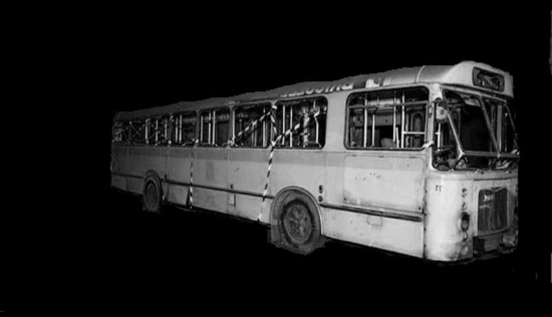 Ilustrasi bus hantu (Foto : Istimewa)