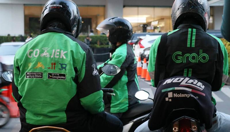 Ilustrasi driver ojol (Foto : Istimewa)