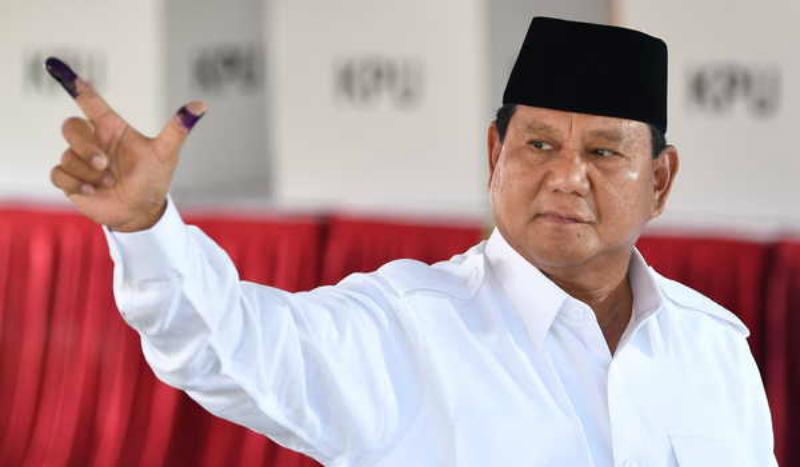 Tidak ada lagi upaya hukum yang bisa dilakukan Prabowo, termasuk ke Mahkamah Internasional (Foto : Istimewa)