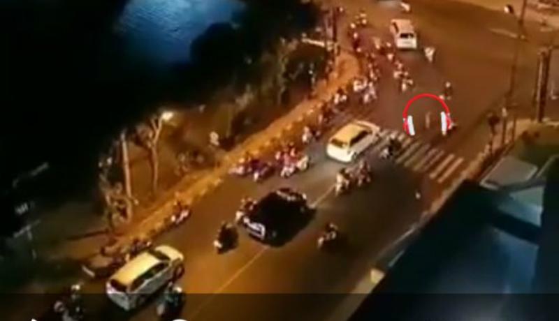 Penampakan 'mahluk' mirip hantu gegerkan warga Yogyakarta (Foto : Istimewa)